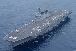 Biển Đông: Tàu sân bay Nhật tiếp tục tuần tra, báo Trung Quốc đe dọa 'báo thù'