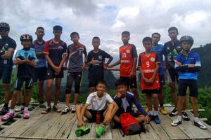 Hành trình giải cứu đội bóng trẻ em Thái Lan qua ảnh
