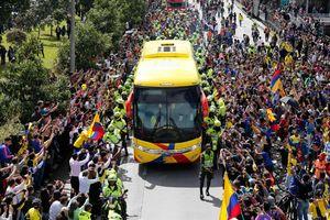 Thất bại ở World Cup nhưng người Colombia chào đón đội tuyển như thể vừa giành chức vô địch