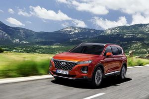 Hyundai Sante Fe mới có giá từ 1 tỷ đồng tại Anh