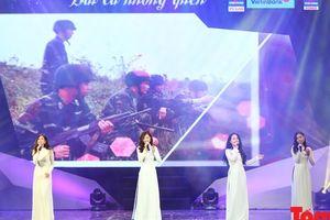 'Bài ca không quên': Tưởng nhớ và tri ân các anh hùng liệt sĩ