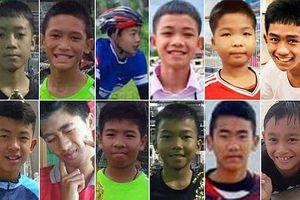 Chân dung 12 cậu bé bị mắc kẹt trong hang động Thái Lan