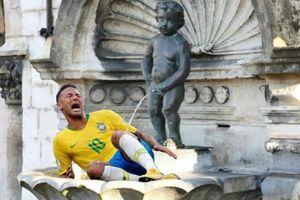Bị loại, Brazil và Neymar thành đề tài chế ảnh trên mạng xã hội