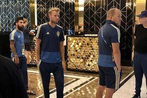 Tuyển Thụy Điển náo động vì báo động giả trước trận gặp Anh