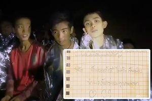 Từ trong hang, HLV đội bóng Thái Lan viết thư xin lỗi phụ huynh