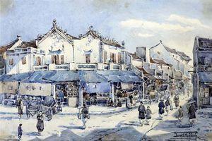 Xứ sở Đông Dương qua loạt tranh cổ của họa sĩ Pháp