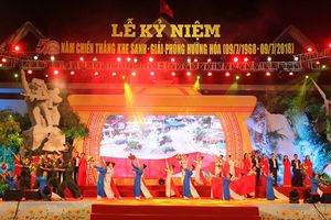 Quảng Trị: Long trọng lễ kỷ niệm 50 năm ngày Chiến thắng Khe Sanh