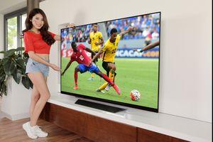 Lên đời TV dễ dàng nhờ chọn đúng ưu đãi mùa World Cup