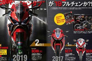 Siêu môtô Honda CBR1000RR phiên bản 2019 lộ diện
