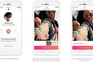 Tinder triển khai tính năng chia sẻ video ngắn đến thiết bị iOS