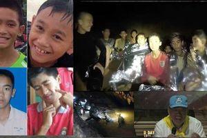 Giải cứu đội bóng Thái Lan đợt 2: Chạy đua với mưa bão