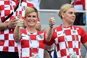 Tổng thống Croatia, thủ tướng Đức và những nguyên thủ quốc gia 'cuồng' bóng đá