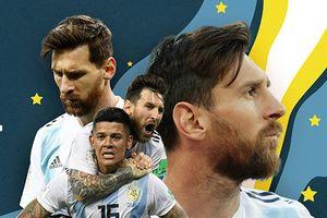 Argentina từ Maradona đến Messi: Nát bấy không chỉ ở một World Cup