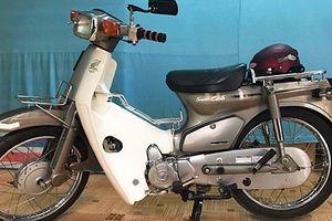 Cận cảnh xe máy Honda Cub 82 'còn zin' tại Hà Nội