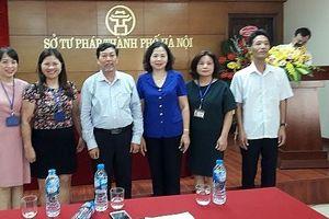 Chi hội luật gia Sở Tư pháp tổ chức thành công Đại hội lần thứ X, nhiệm kỳ 2018-2023