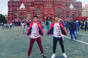Sao Việt mặc gì hôm nay: Đức Chinh-Tiến Dũng U23 diện đồ đôi siêu hot tại Nga