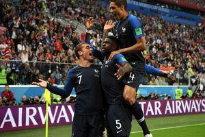Pháp 1-0 Bỉ: Les Bleus vào chung kết World Cup 2018