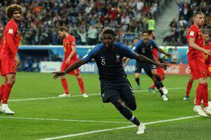 Bản lĩnh Pháp thắng nhiệt huyết của Bỉ