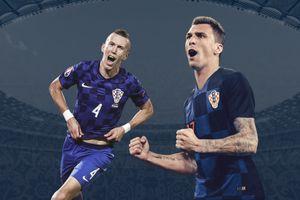 Bộ đôi Croatia chơi ấn tượng nhất vòng bán kết World Cup