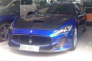 Tịch thu Maserati 9,2 tỷ của trùm cá độ bóng đá Sài Gòn