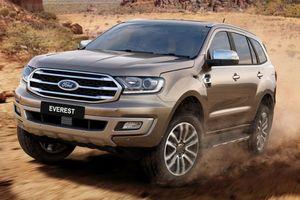 Ford Everest phiên bản mới sắp về Việt Nam?