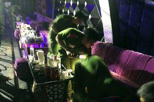 Tạm giữ nhiều người sử dụng ma túy ở quán bar