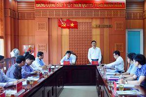 Bộ trưởng Bộ Tư pháp làm việc tại Quảng Nam