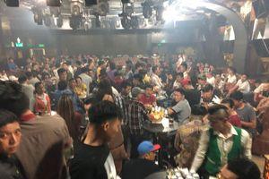 Đột kích bar Đông Kinh, phát hiện 95 'dân chơi' dương tính với ma túy