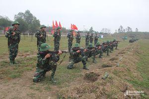 Sư đoàn 324 diễn tập chiến thuật cấp đại đội có bắn đạn thật