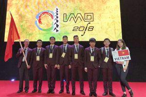Việt Nam giành một huy chương vàng tại Olympic Toán học quốc tế lần thứ 59