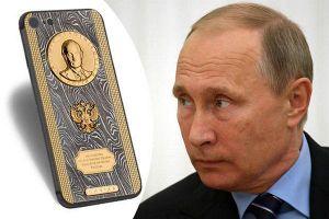 Điểm danh những phiên bản điện thoại đặc biệt có in hình chân dung Tổng thống Nga Putin