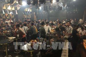 Kiểm tra quán bar, phát hiện gần 100 người sử dụng ma túy