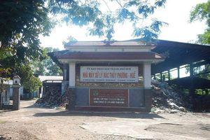 Thừa Thiên Huế: Giảm ô nhiễm tại nhà máy xử lý rác thải
