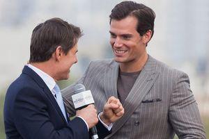Tom Cruise và 'siêu nhân' Henry Cavill đọ vẻ lịch lãm trên thảm đỏ