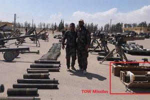 SAA thu kho tên lửa Mỹ tại Đông Damascus