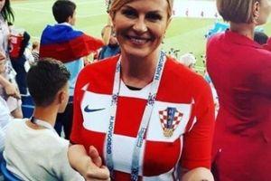 Đi cổ vũ đội nhà, nữ Tổng thống Croatia tự lo mọi chi phí