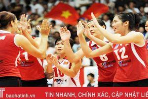 Lịch thi đấu và phát sóng Giải Bóng chuyền nữ quốc tế VTV Cup 2018