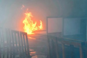 Cà Mau: Hỏa hoạn tại trường học do chập điện