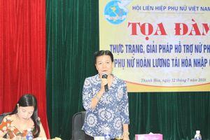 Giải pháp hỗ trợ nữ phạm nhân và phụ nữ hoàn lương tái hòa nhập cộng đồng