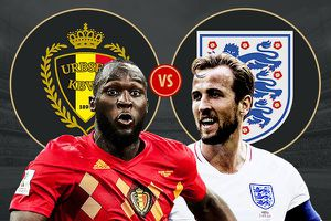 World Cup 2018: Anh đối đầu Bỉ, không còn gì để mất