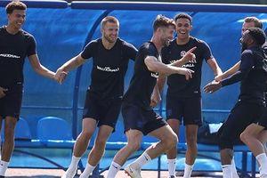 Dàn sao ĐT Anh tìm lại niềm vui trước trận tranh hạng ba với ĐT Bỉ