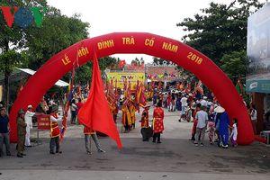 Lễ hội đình làng Trà Cổ hấp dẫn du khách gần xa