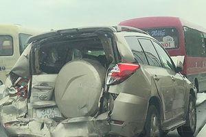 Tai nạn liên hoàn trên cao tốc Ninh Bình-Cầu Giẽ