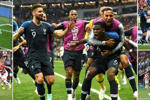 Hạ Croatia 4-2 Pháp lên ngôi vô địch World Cup sau 20 năm