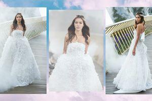 'Chơi trội' với áo cưới kết từ 50.000 cánh hoa, Minh Tú hóa cô dâu kiêu kỳ, ai nhìn cũng đắm say