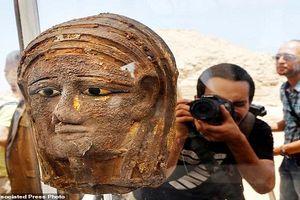 Phát hiện xưởng xác ướp 2.500 tuổi ở Ai Cập