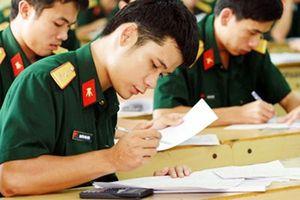 23 điểm vẫn có thể trúng tuyển vào các trường quân đội, công an