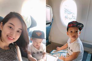 Ly Kute đưa con trai Khoai Tây 'trốn' khỏi Hà Nội vài tháng