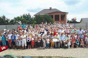 Người đàn ông 87 tuổi có gia đình lớn nhất hành tinh với 346 con cháu