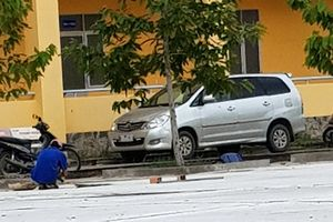 Chiếc ôtô đại úy công an báo bị cướp ở Sóc Trăng đổi màu sơn?